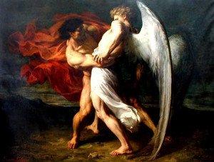 Alexander-Louis-Leloir_Giacobbe-lotta-con-lAngelo_1865