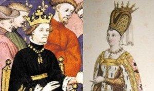 Charles VI et Isabeau